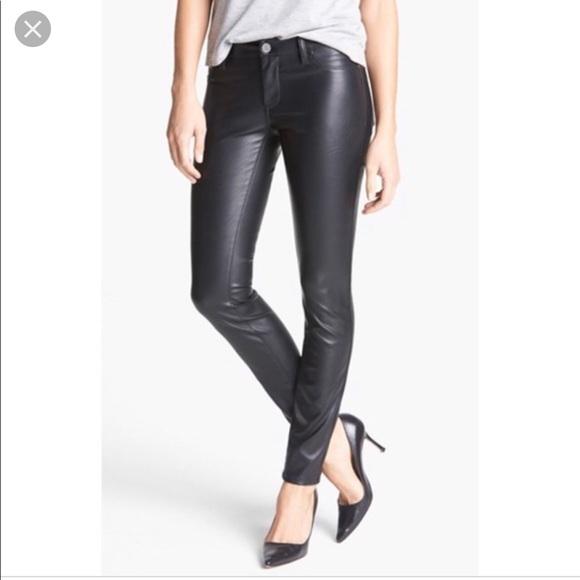 af6fdc7a05 ashley mason Pants | High Rise Black Leggings Faux Leather 29 | Poshmark